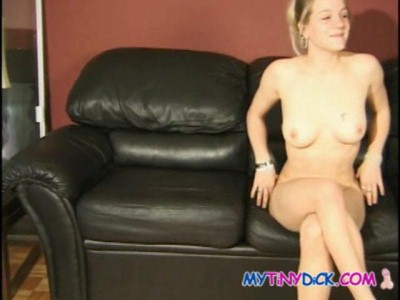Porn audition girl duped by small dick!