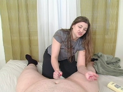 BBW humiliates a little dick!
