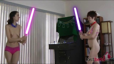 Dicksaber Duel with Princess Lily and Darth