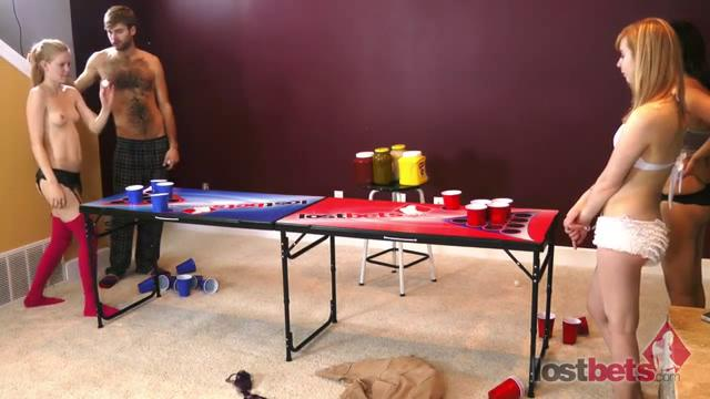 4 Amateur Movies - Strip Air Pong with Julie and Kyle vs. Fern and Lumen