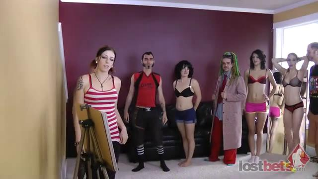 1 Amateur Movies - Strip Hi-Lo with Ten Girls and Five Guys (HD)