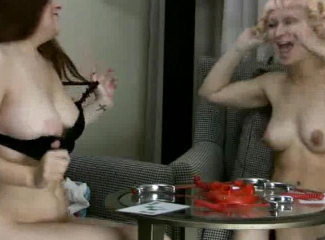4 Amateur Movies - Strip Shockinaw with Faye and Liilii