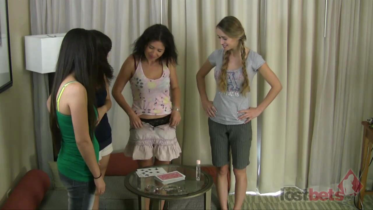 1 Amateur Movies - Strip Hgh Card with Asia, Iris, Tatiana, and Berenika (HD)