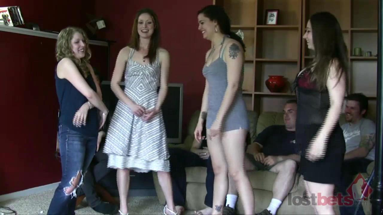 1 Amateur Movies - Strip Bizz-Buzz with Sarah, Kandie, Zayda, and Cara (HD)